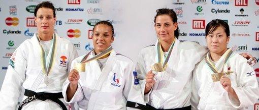Mondiaux de judo : 4ème journée (F-70kg et -78kg / H-90kg)