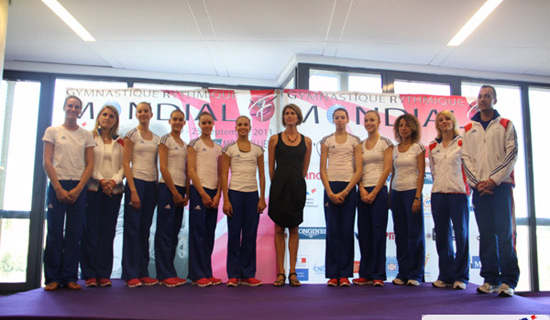 Résultats des Championnats du Monde de Gymnastique Rythmique