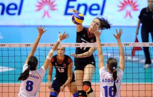 1ère journée de l'Euro de VolleyBall féminin