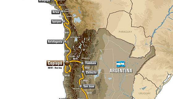 Présentation Dakar 2012
