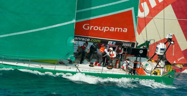 Gagnez des tenues Groupama in The Volvo Ocean Race by Slam