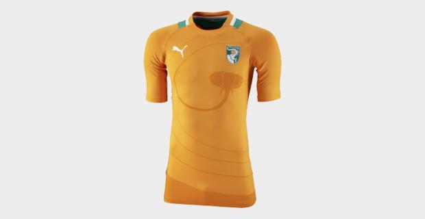 Les maillots de la Coupe d'Afrique des Nations 2012