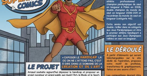 Concours Golden Arm de Super Héros