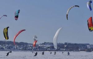 L'évènement Kite Snow au Canada