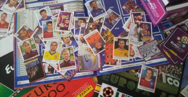 Album Panini de l'Euro 2012