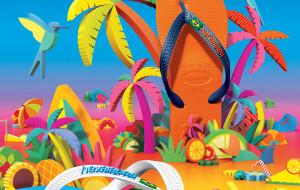 Havaianas fait déferler l'esprit festif brésilien