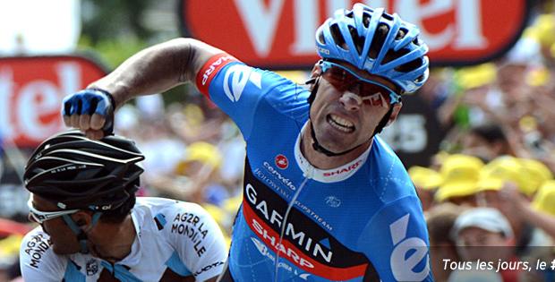 Le point Garmin, une autre manière de suivre le Tour de France