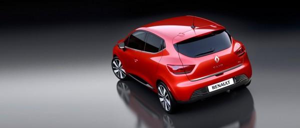Renault Clio 4 vue arrière