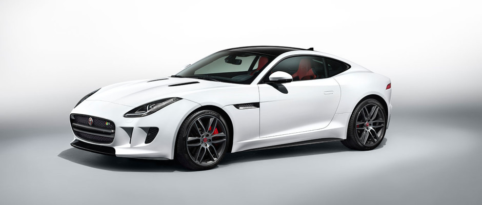 Jaguar F-Type R Polaris White