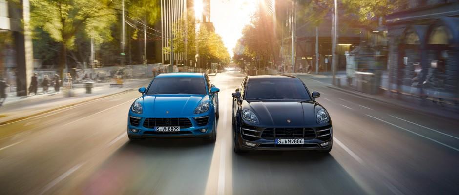 Porsche Macan S - Porsche Macan Turbo