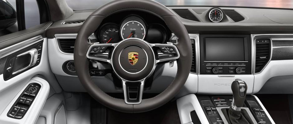 Tableau de bord Porsche Macan