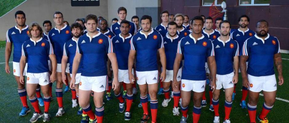 Maillots XV de France