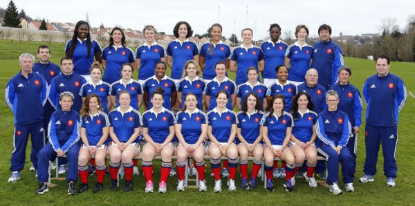 XV de France Féminines - Tournoi des 6 Nations 2014