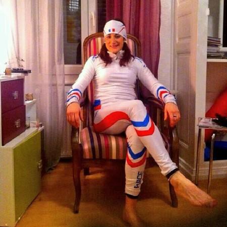 Marie-Laure Brunet sexy en One Way Sport JO Sotchi 2014