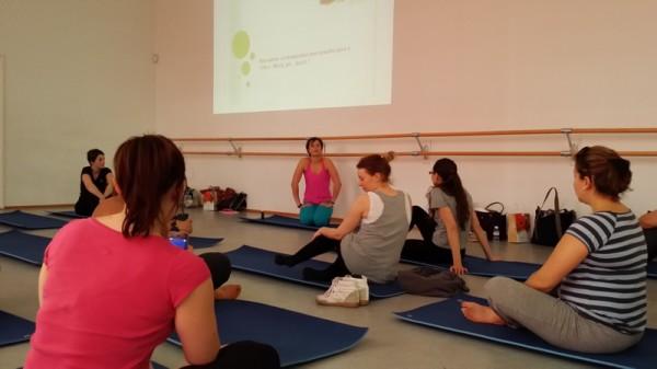 Yoga avec Julie Ferrez