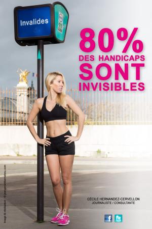 Cécile Hernandez - Handicap invisible