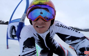 Marcel Hirscher en vidéo embarquée