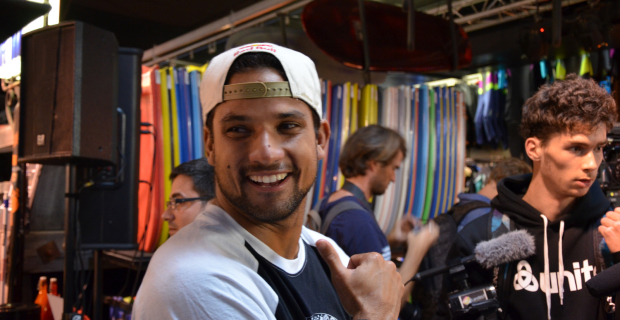 Michel Bourez - Quik Pro France 2014