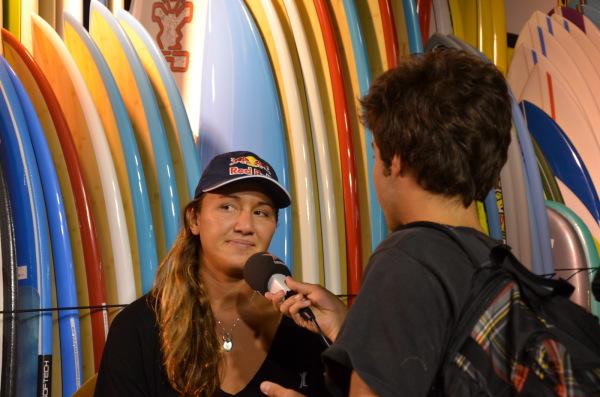 Carissa Moore - Roxy Pro France 2014