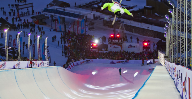 Kevin Rolland Tignes SFR Freestyle Tour 2014
