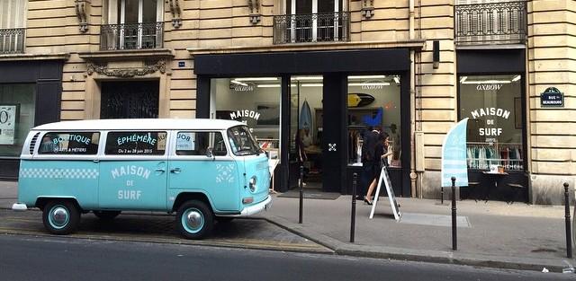 Oxbow Maison de Surf à Paris