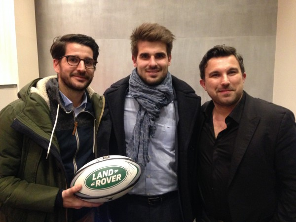 Hugo Bonneval - Nuit du Rugby