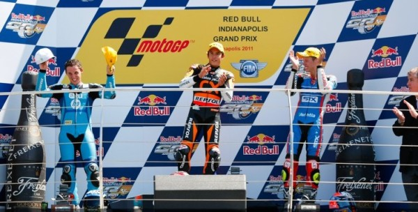 Podium Moto2 Indianapolis