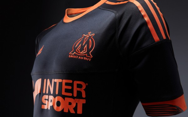 Maillot OM Third 2012-2013 face match (noir)