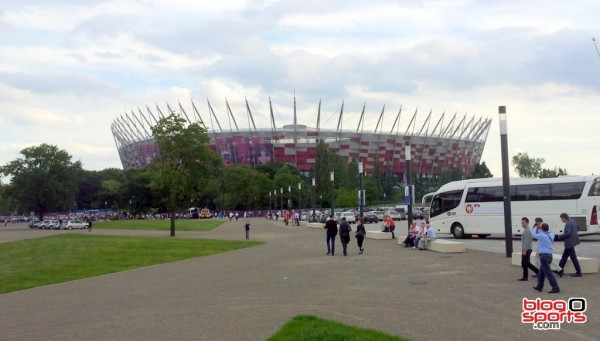 Stade National de Varsovie Euro 2012