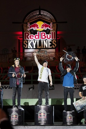 Dennis Enarson, Ryan Nyquist, Daniel Dhers and Ben Hennon - Winners Red Bull Skylines